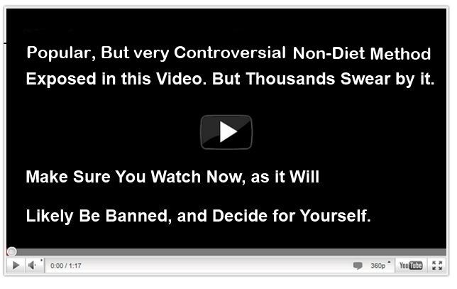 Non Diet Method for losing weight