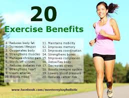 20 Physical Exercise Benefits